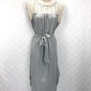 Gap shirt tail dress new small